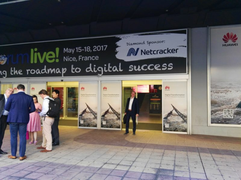 Stay tuned what's happening with NetYCE at TM Forum Live 2017 in Nice